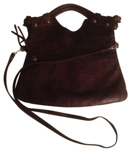 Pietro Alessandro Satchel in Brown