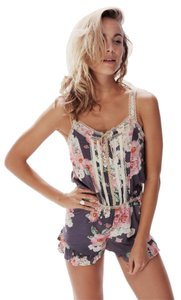 Wildfox Romper Austen Rose Dress