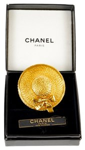 Chanel Chanel Gold Sunhat Pin