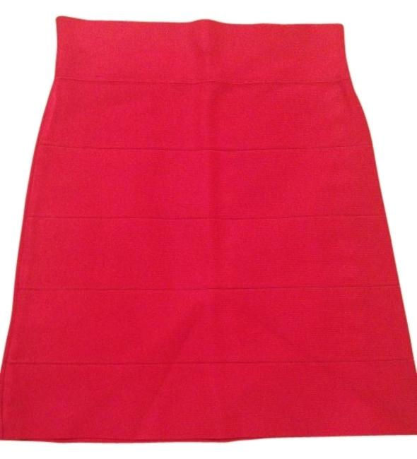 Preload https://img-static.tradesy.com/item/98762/bcbgmaxazria-hot-pink-simone-texture-power-skirt-size-12-l-32-33-0-0-650-650.jpg