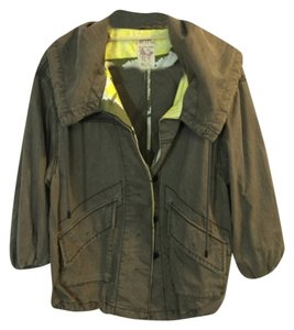 Free People Green Jacket