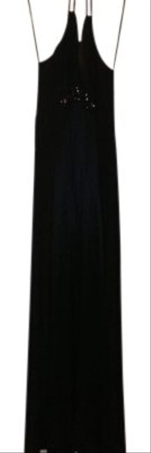 Preload https://img-static.tradesy.com/item/98766/bcbgmaxazria-black-woven-charmeuse-long-night-out-dress-size-2-xs-0-0-650-650.jpg
