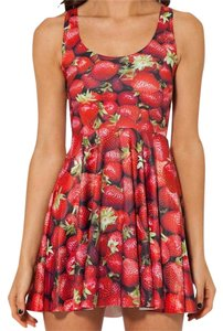Other short dress Red Summer Strawberry Skater on Tradesy