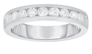 Best price on Tradesy - Platinum 1 carat diamond channel set band ring unisex