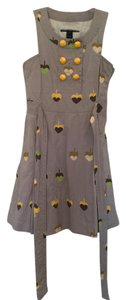 Marc by Marc Jacobs short dress Khaki/Yellow/Green Yellow Green Print on Tradesy