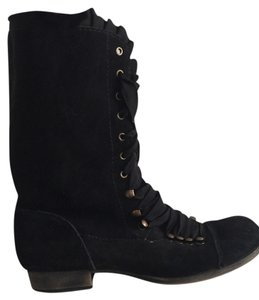 Betsey Johnson Black Boots
