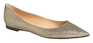Jimmy Choo Limited Edition Pewter Bronze Flats