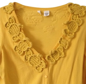Anthropologie Moth cardigan sweater with embroidered bees Cardigan