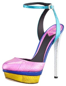 B Brian Atwood Pink Multi Pumps