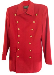 Ralph Lauren Red Blazer