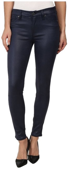 Item - Deep Navy Coated New Tags Ankle Pants Skinny Jeans Size 25 (2, XS)