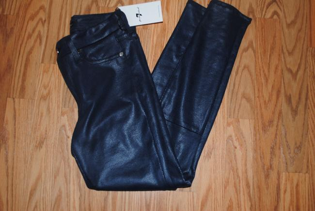 7 For All Mankind Leggings Stretchy Jeggings 25 Skinny Jeans-Coated