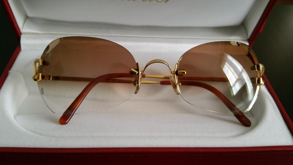 Cartier Gold Reserved For Mj Eyewear - 18k Yellow Double C Decor ...
