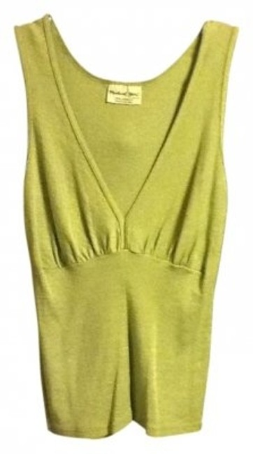 Preload https://item5.tradesy.com/images/michael-stars-lime-green-casual-v-neck-tank-topcami-size-8-m-9879-0-0.jpg?width=400&height=650