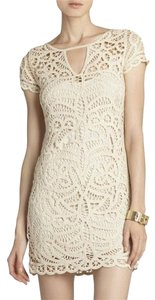 BCBGMAXAZRIA Crochet Dress