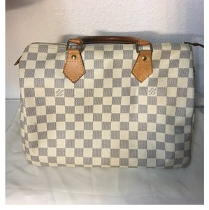 Louis Vuitton Satchel in Damier Canvas