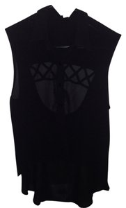 Millau Cutout Buttondown Lf Lfstores Top Black