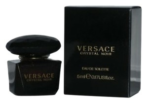 Versace CRYSTAL NOIR BY VERSACE 0.17oz 5 ML EDT MINI FOR WOMEN 100% Authentic