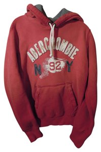 Abercrombie & Fitch Soft Heavy Weight Drawstring Kangaroo Pockets Sweatshirt