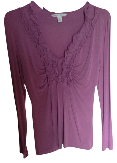 Preload https://item1.tradesy.com/images/mauve-blouse-size-2-xs-988065-0-0.jpg?width=400&height=650