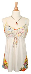 Anthropologie Top cream/multi