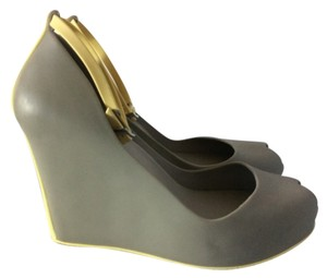 Melissa Grey Wedges