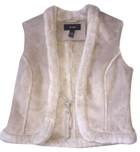 Alfani Suede Faux Fur Winter Vest