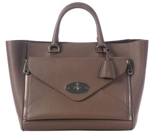 Mulberry Calf Leather Large Tote
