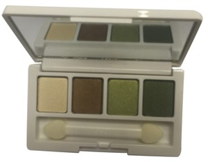 Clinique Clinique mini 4 color eyeshadow pallet - all about shadow quad .08oz/2g