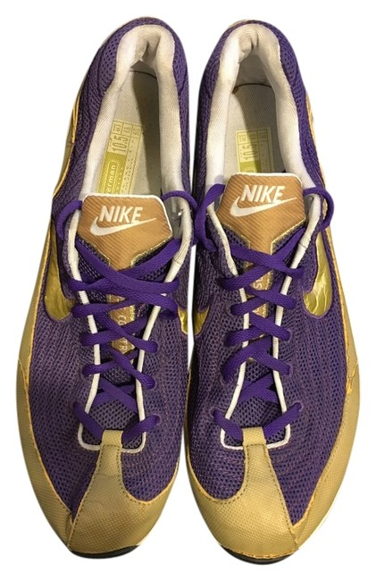 Item - Purple / Gold Cross Country Sneakers Size US 10.5 Regular (M, B)