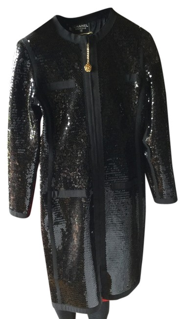 Preload https://img-static.tradesy.com/item/9881581/chanel-black-sequinned-with-camelia-flower-zipper-mid-length-cocktail-dress-size-8-m-0-1-650-650.jpg
