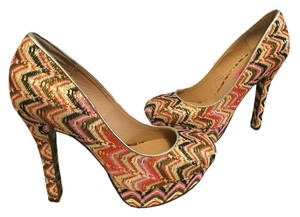 Betsey Johnson Party Multi color Platforms