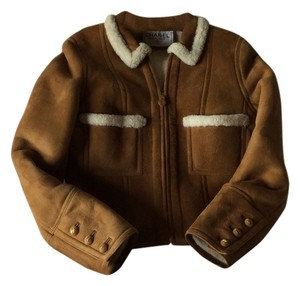 Chanel Shearling Caramel Jacket
