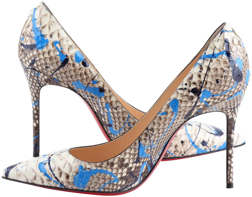 b8e3498a325d Christian Louboutin Multicolor So Kate Pointed Toe Python
