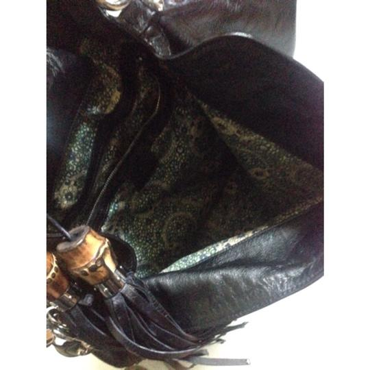 Gucci Italy Leather Indy Two Ways Shoulder Bag