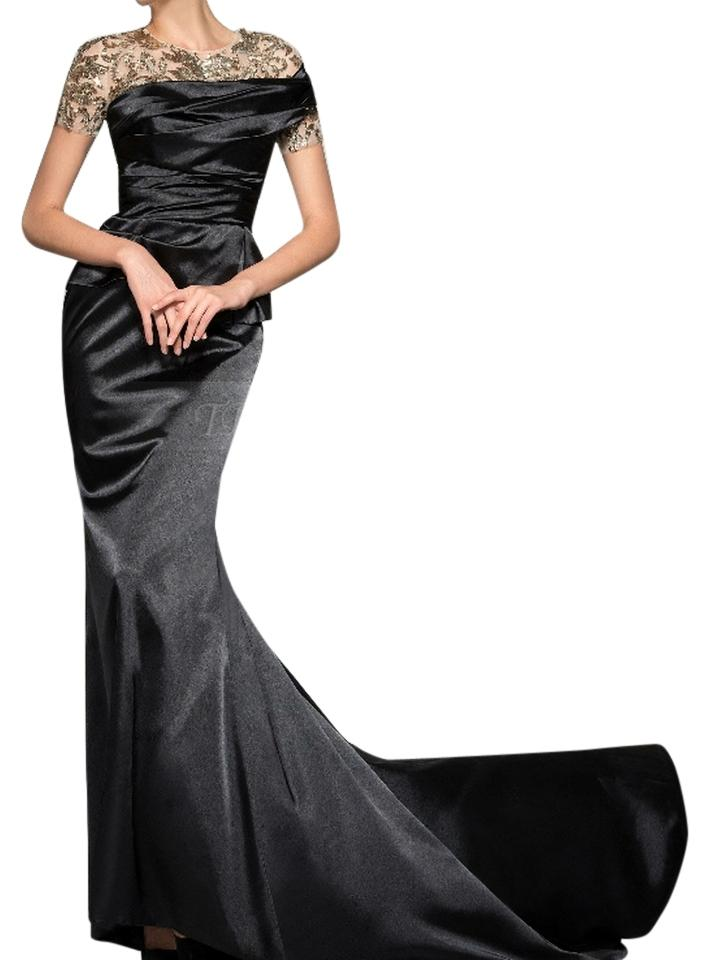 Sky Blue Mermaid Gown with Train Long Formal Dress Size 4 (S) - Tradesy