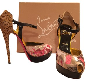 Christian Louboutin Multicolor/black Platforms