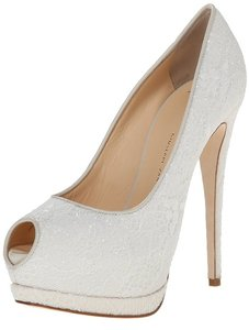 Giuseppe Zanotti Wedding Lace Platform Designer Shoes Wedding Shoes