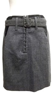 CoSTUME NATIONAL Mini Skirt Grey