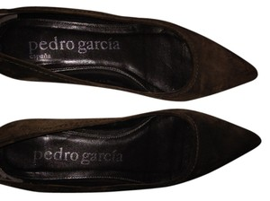 Pedro Garcia Pointy-toe Suede brown Flats