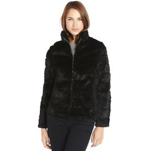 Adrienne Landau Fur Rabbit Rex Rabbit Fur Coat