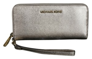 Michael Kors * Michael Kors Travel Continental Wallet - Pale Rose Gold