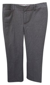 Banana Republic Trouser Pants Grey Pinstripe