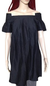 3.1 Phillip Lim Linen Off Linen And Spandex Baby Doll Tunic