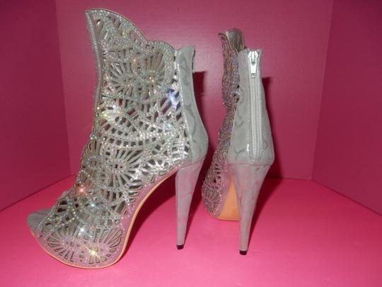 lady couture silver Boots