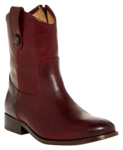 Frye Boot Cognac Brown Melissa Bourdeax Boots