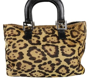 Fendi Tote in Cheetah