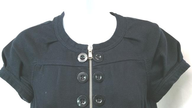 Marc by Marc Jacobs Woven Cotton Top BLACK