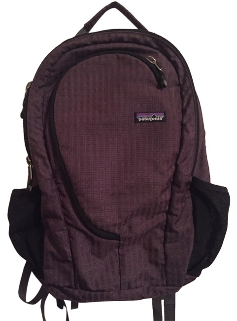 Item - Pocketwire Black/Plum Nylon Backpack