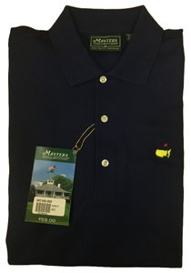 Men's masters polo Mens Master Button Down Shirt Navy